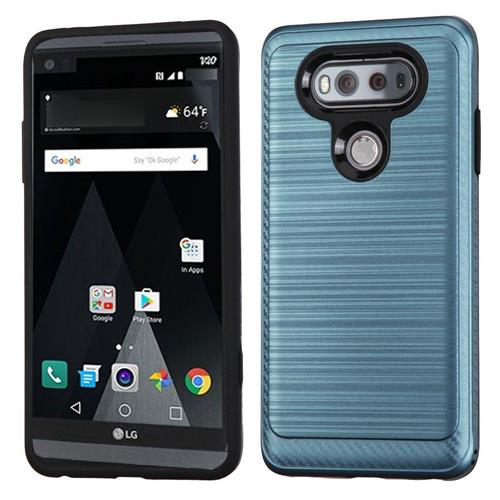Insten Fitted Soft Shell Case for LG V20 - Blue/Black