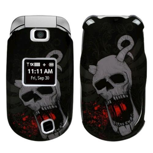 Insten Bloodthirsty Skull Hard Cover Case For LG Revere, Black