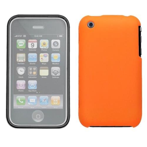 Insten Book TPU Matte Case For Apple iPhone 3G/3GS, Orange