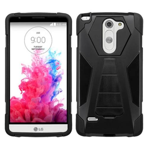 finest selection fbaa4 ad527 Insten Fitted Soft Shell Case for LG G3 Stylus - Black