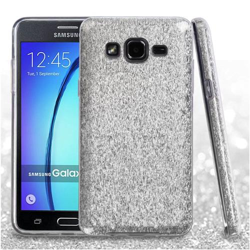 Insten Fitted Soft Shell Case for Samsung Galaxy On5 - Silver