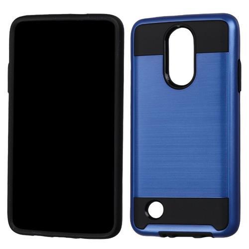 Insten Hard Hybrid TPU Cover Case For LG LV3, Blue/Black