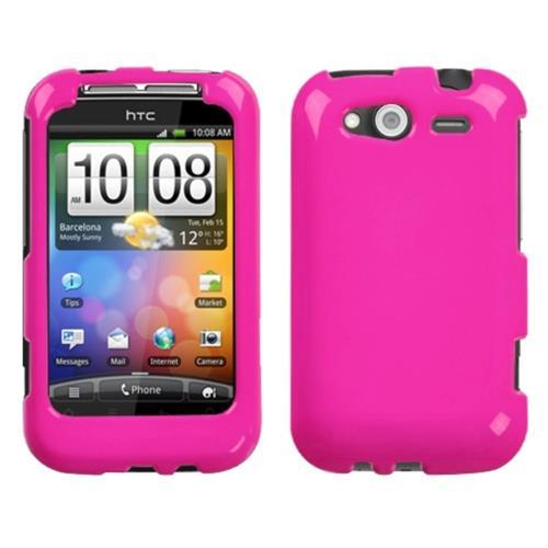 Insten Hard Case For HTC Wildfire S, Hot Pink
