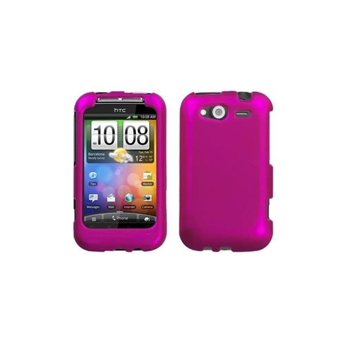 Insten Hard Cover Case For HTC Wildfire S, Hot Pink