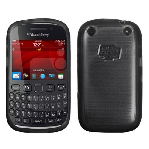 Insten TPU Case For BlackBerry Curve 9310 / 9315, Clear/Black