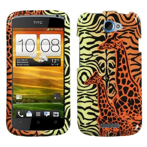 Insten Fitted Hard Shell Case for HTC One S - Orange