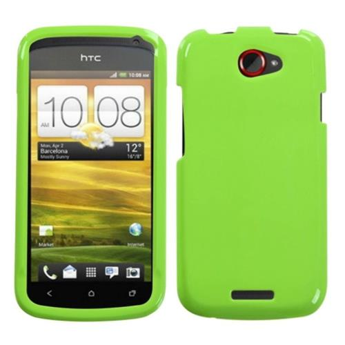 Insten Hard Transparent Crystal Cover Case For HTC One S, Green