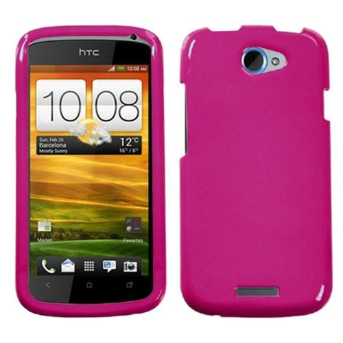 Insten Hard Cover Case For HTC One S, Hot Pink