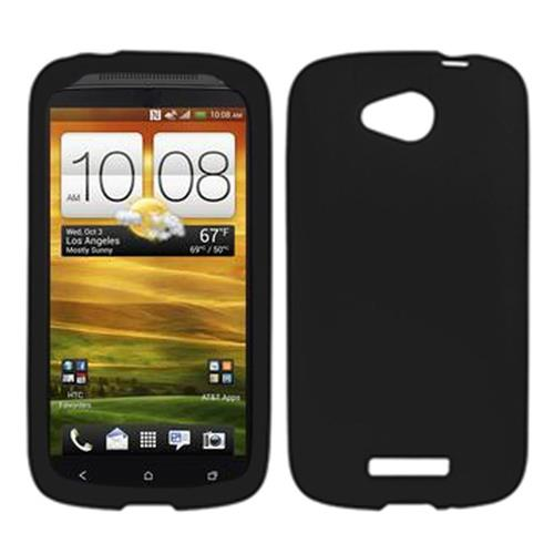 Insten Rubber Case For HTC One VX, Black