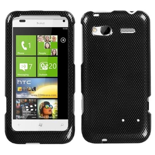 Insten Fitted Hard Shell Case for HTC Radar 4G / Omega - Black