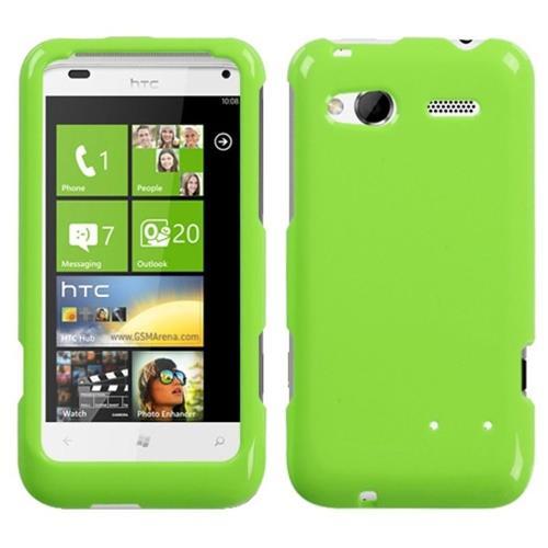 Insten Hard Clear Crystal Case For HTC Radar 4G / Omega, Green