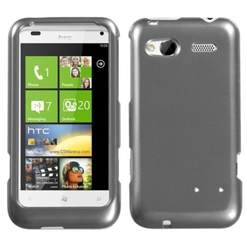 Insten Hard Clear Crystal Cover Case For HTC Radar 4G / Omega, Gray