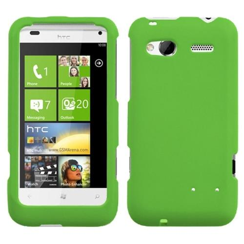 Insten Hard Rubber Case For HTC Radar 4G / Omega, Green