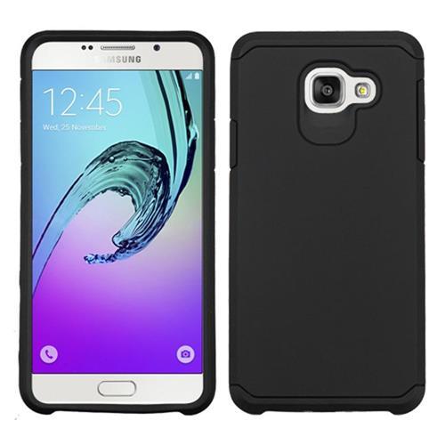 Insten Hard Hybrid Silicone Case For Samsung Galaxy A7 (2016), Black