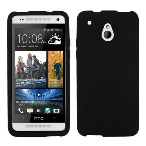 Insten Soft Rubber Case For HTC One Mini, Black