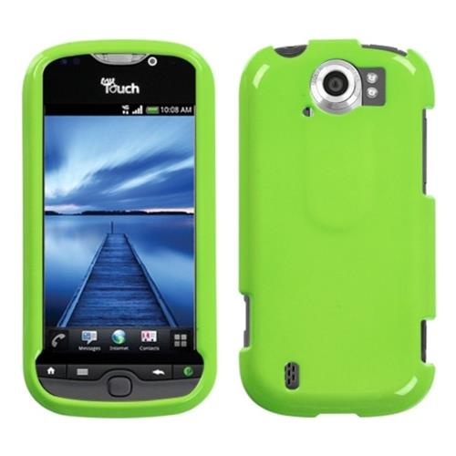 Insten Hard Clear Crystal Cover Case For HTC MyTouch 4G Slide, Green