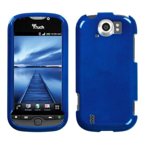 Insten Hard Clear Crystal Cover Case For HTC MyTouch 4G Slide, Blue