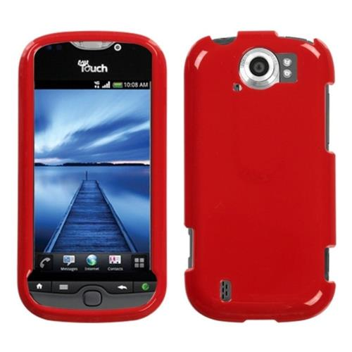 Insten Hard Case For HTC MyTouch 4G Slide, Red