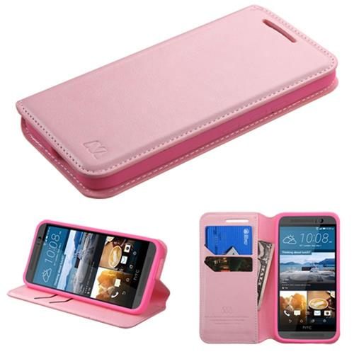 Insten Fitted Soft Shell Case for HTC One M9 - Pink