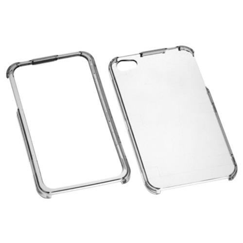 Insten Hard Crystal Cover Case For Apple iPhone 4/4S, Clear