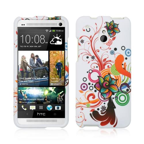 Insten Fitted Hard Shell Case for HTC One Mini - Colorful