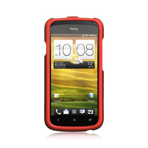 Insten Hard Cover Case For HTC One S, Red