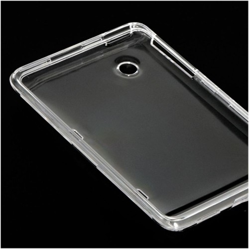 Insten Fitted Soft Shell Case for HTC EVO View 4G / Flyer - Clear