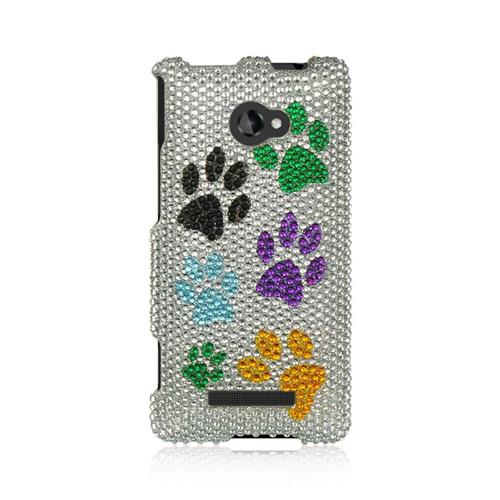 Insten Hard Diamond Case For HTC Windows Phone 8X, Colorful