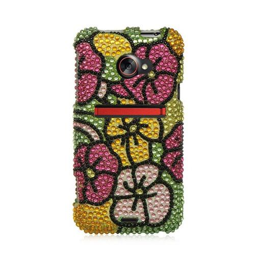 Insten Hard Bling Cover Case For HTC EVO (LTE version), Colorful