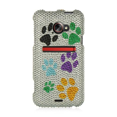 Insten Hard Bling Case For HTC EVO (LTE version), Colorful