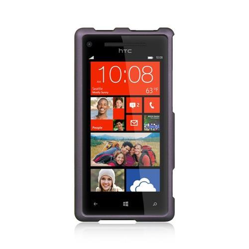 Insten Hard Cover Case For HTC Windows Phone 8X, Purple