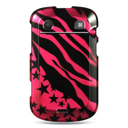 Insten Hard Cover Case For BlackBerry Bold Touch 9900/9930, Hot Pink/Black
