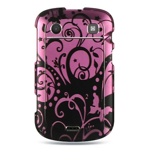 Insten Hard Case For BlackBerry Bold Touch 9900/9930, Purple/Black
