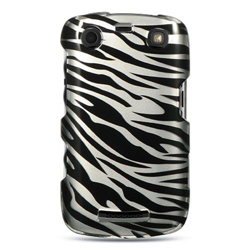 Insten Hard Cover Case For BlackBerry Curve 9360, Silver/Black