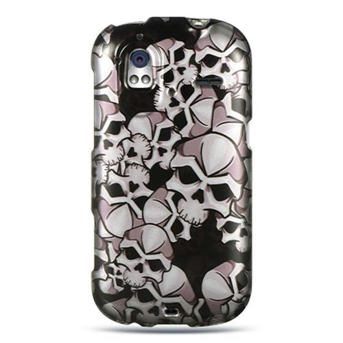 Insten Hard Rubberized Case For HTC Amaze 4G, White/Black