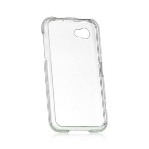 Insten Hard Plastic Case For HTC First, Clear