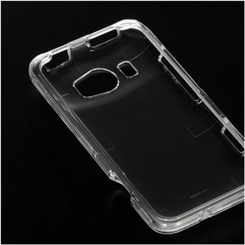 Insten Hard Plastic Case For HTC Titan II, Clear