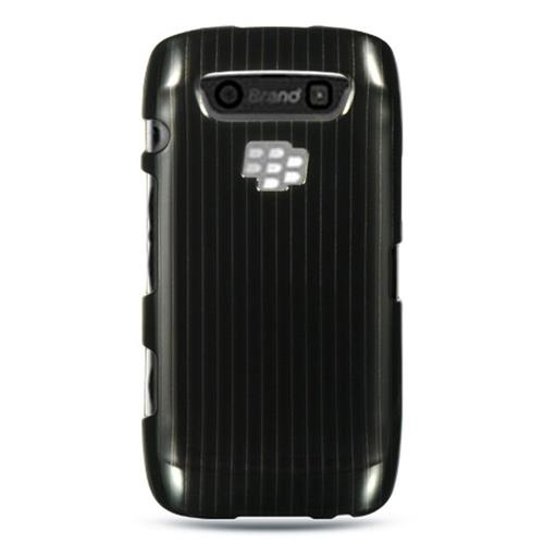 Insten Hard Rubber Case For BlackBerry Torch 9850/9860, Black
