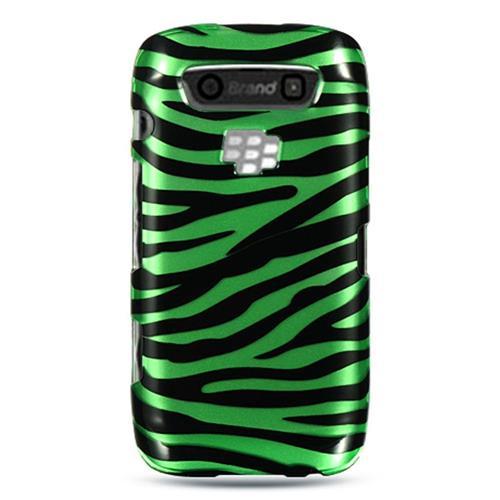 Insten Hard Cover Case For BlackBerry Torch 9850/9860, Green/Black