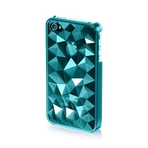 Insten Hard Plastic Cover Case For Apple iPhone 4/4S, Blue