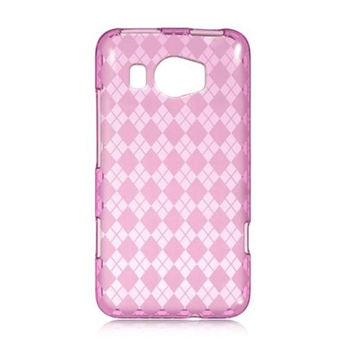 Insten Fitted Soft Shell Case for HTC Titan II - Hot Pink