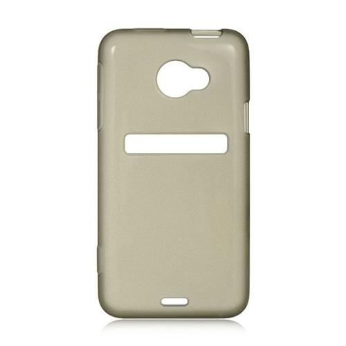 Insten Hard Plastic Case For HTC EVO (LTE version), Smoke