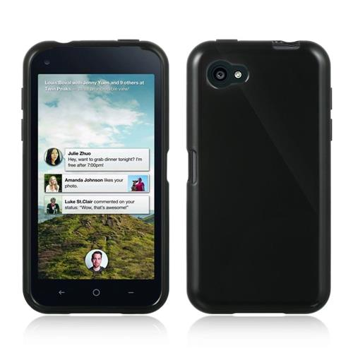 Insten TPU Cover Case For HTC First, Black