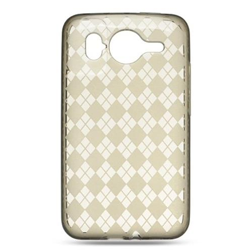 Insten Checker TPU Cover Case For HTC Inspire 4G, Smoke
