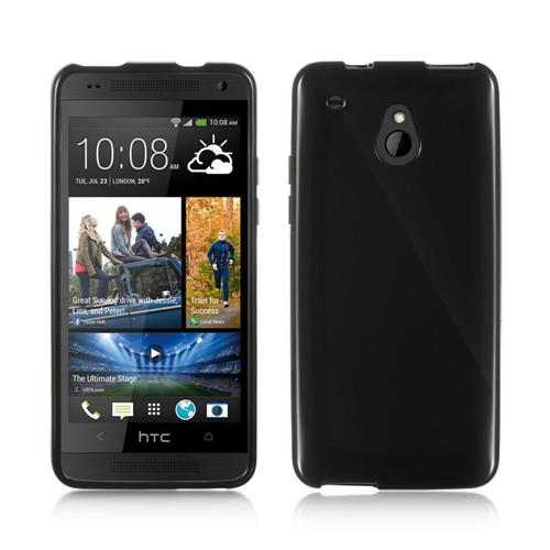 Insten Gel Cover Case For HTC One Mini, Black