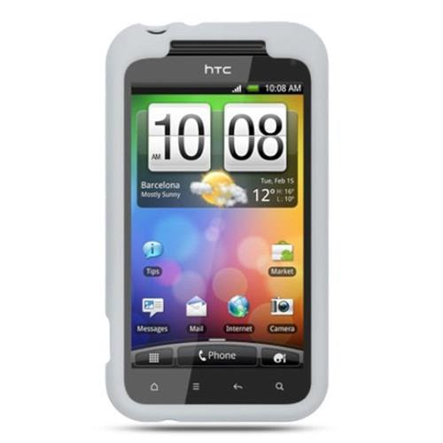 Insten Soft Rubber Case For HTC Droid Incredible 2 6350, Clear