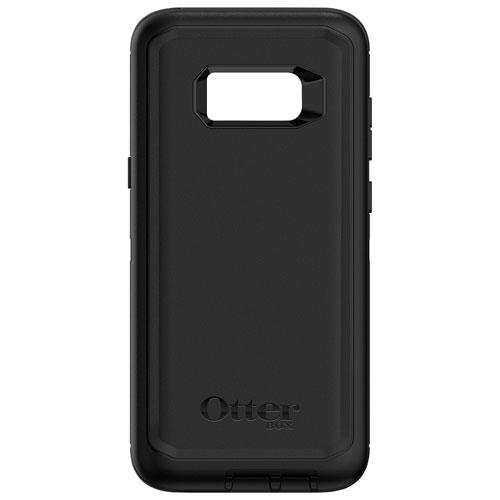 Étui rigide ajusté Defender d'OtterBox pour Galaxy S8 Plus de Samsung - Noir