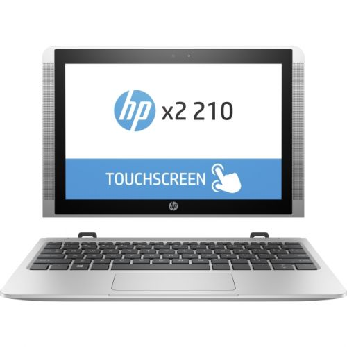"""HP x2 210 G2 10.1"""" 16:10 2 in 1 Netbook - 1280 x 800 Touchscreen - BrightView - Intel Atom x5 x5-Z8350 Quad-core (4 Core) 1.44"""