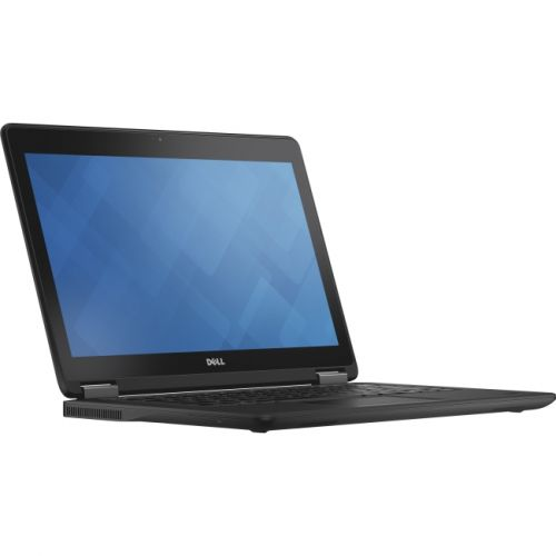 "Dell Latitude 12 7000 E7250 8HRPD 12.5"" Laptop - Black (Intel Core i7 (7th Gen) / 256GB SSD / 8 GB / Intel HD Graphics 620 / Windows 10 Pro ) - English / French / Spanish"