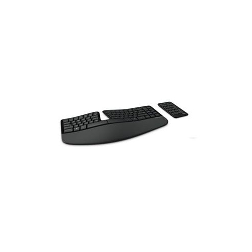 Clavier Microsoft - Câble Connectivité - Noir